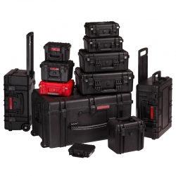 sesja produktowa walizek i kufrów