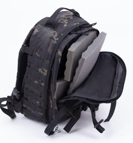 Fotografia plecaka- formowanie